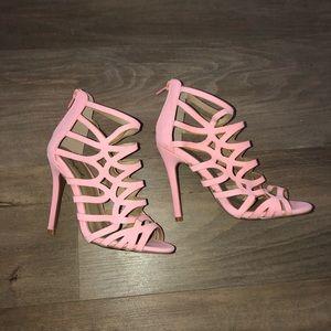 Pink High Heels!
